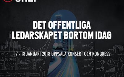 Möt oss på Offentlig Chef i Uppsala den 17-18 januari