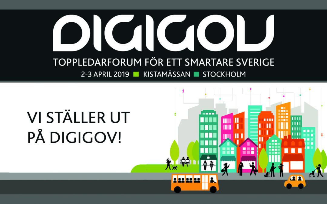 Digigov – toppledarforumet för ett smartare Sverige – vi ses väl där?